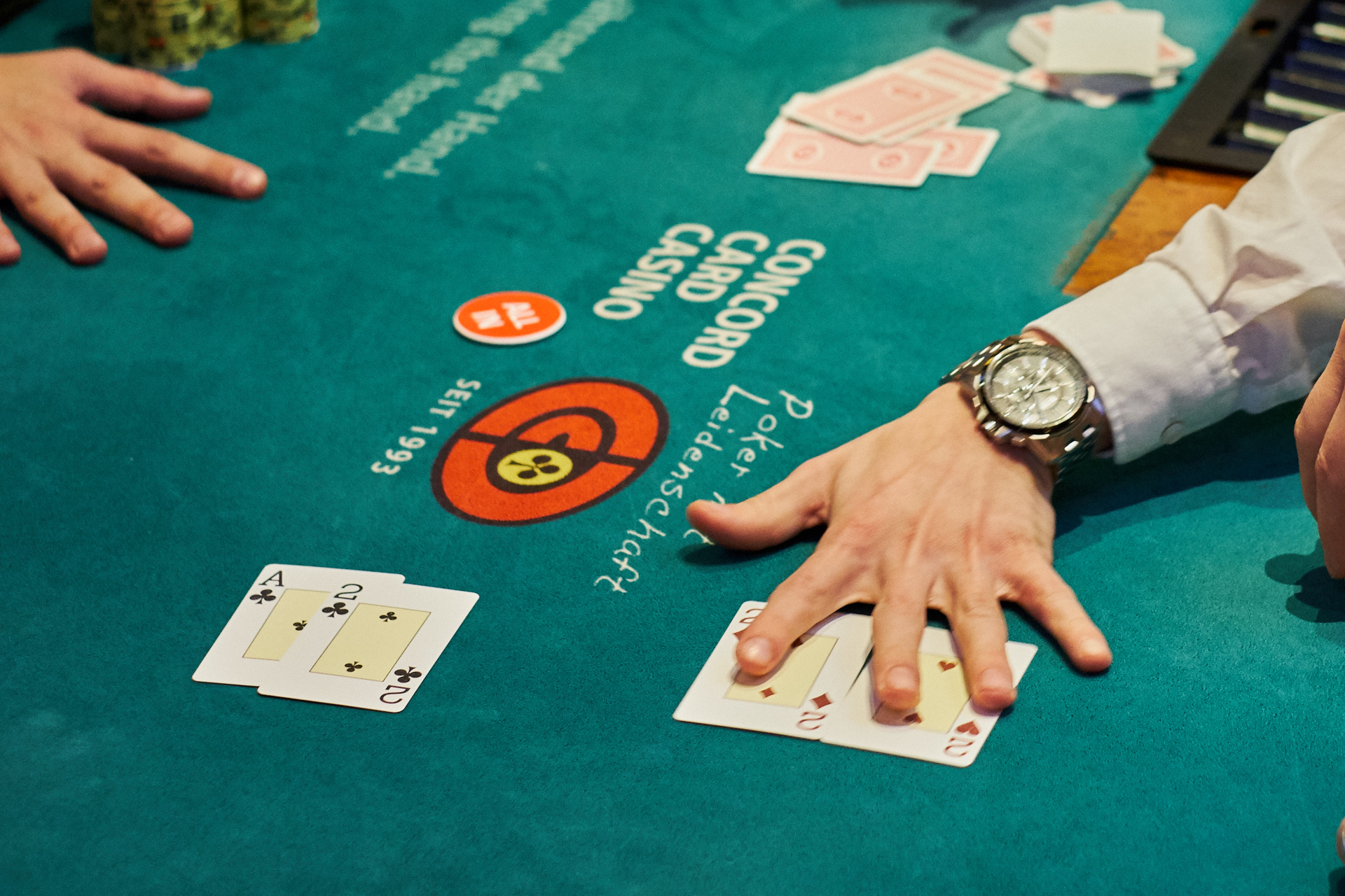 All-In Situation bei Texas Hold'em No Limit